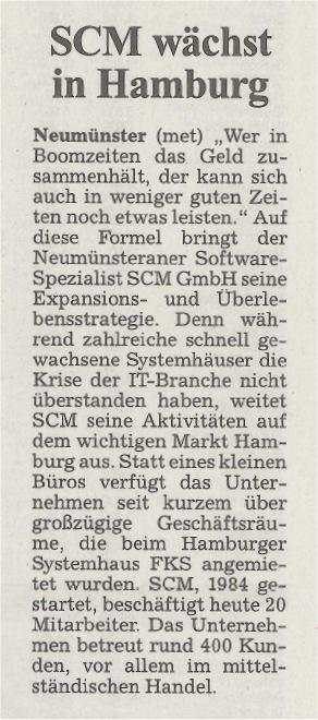 Kieler Nachrichten vom 18. Dezember 2002